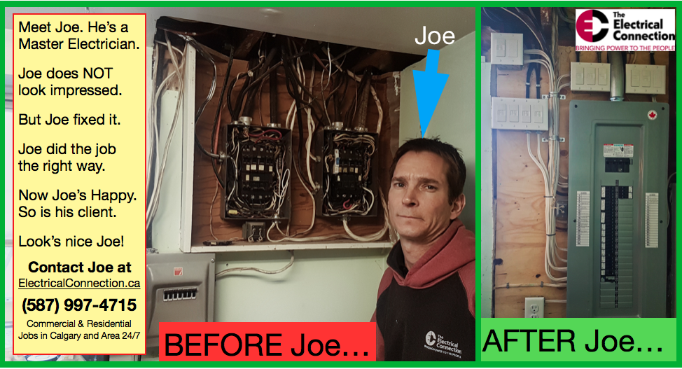 Before The Electrical Connection and After