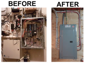 calgary-electrician-panel-before-after
